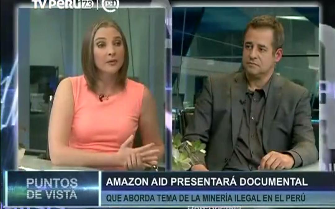 Amazon Aid en TV Perú